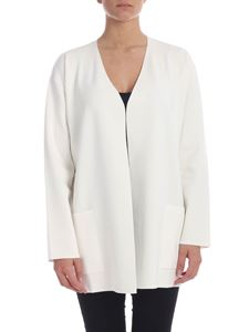 Max Mara Studio - Maroso cardigan in white