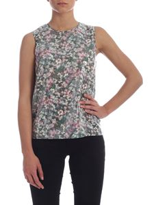 Max Mara Studio - Edile top with floral pattern