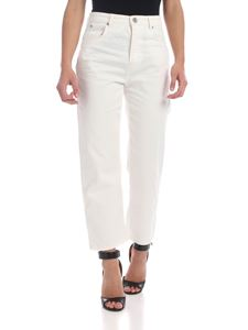Max Mara Weekend - Crop Dolce jeans in white