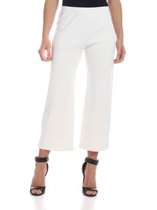 Max Mara Studio - Spigola trousers in white