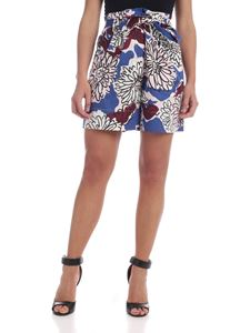 Max Mara Weekend - Cafila shorts in blue with floral print