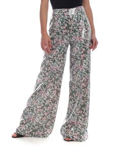 Max Mara Studio - Obliqua floral pants with sequins