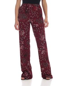 Max Mara Studio - Fertile pants in burgundy