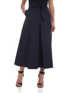 Max Mara Studio - Crop Nocino trousers in blue