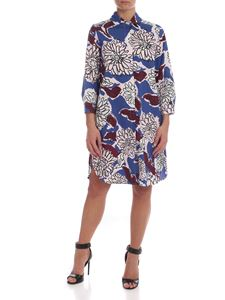 Max Mara Weekend - Prato dress in blue with floral print