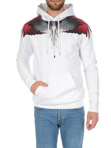 Marcelo Burlon - Wings hoodie in white