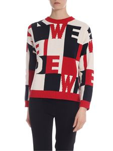 Max Mara Weekend - Aire pullover in red and blue