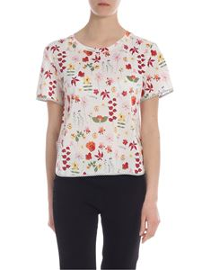 Max Mara Weekend - Paolo t-shirt in white with floral print