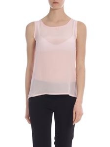 Max Mara Weekend - Livorno top in pink with beads