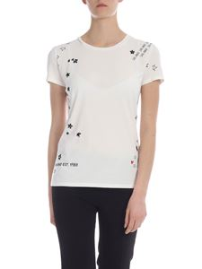 Max Mara Weekend - Leva T-shirt in white with beads
