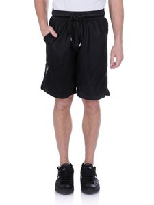Marcelo Burlon - County Mesh bermuda in black