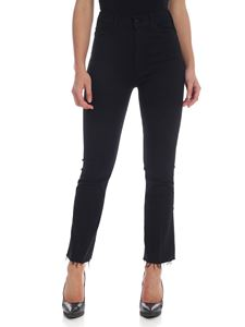 Mother - Hustler Ankle Fray trousers in black