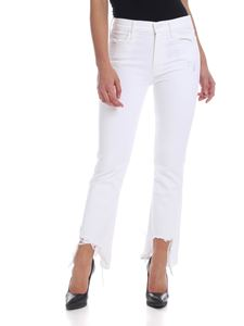 Mother - The Dutchie Ankle Jaws jeans in white