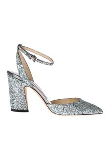 Jimmy Choo - Micky 85 sandals in multicolor glitter