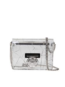 Balmain - BBox bag in transparent plexiglas