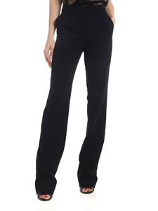 Moschino - Black trousers with slash pockets