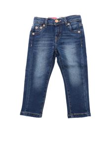 Levi's - Faded effect jeans in blue