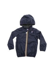 K-way - Jacques Jersey jacket in blue