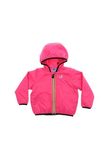 K-way - Le Vrai Claudine jacket in fuchsia