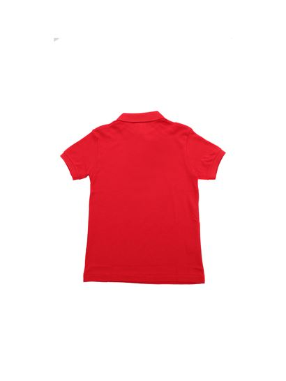 4759bf0a5 Lacoste Spring Summer 2019 polo in red with crocodile patch - PJ2909 ...