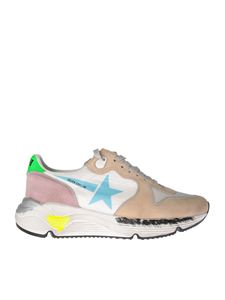 Golden Goose Deluxe Brand - GGDB Running sneakers in white and pink