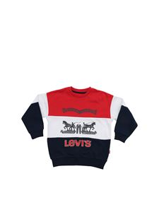 Levi's - Boyzcrew sweatshirt in red and blue