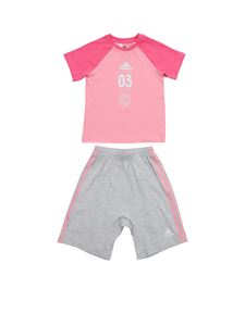 Adidas - Summer rompersuit in pink