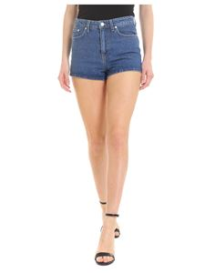 Chiara Ferragni - Flirting shorts in blue denim