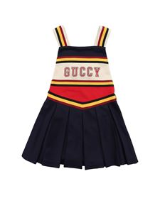 Gucci - Dressin dark blue with Guccy embroidery