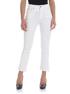 Department 5 - Clar bootcut jeans in white