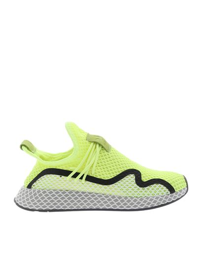 grossiste ebba8 5fe5b Adidas Originals Deerupt S sneakers in fluo yellow