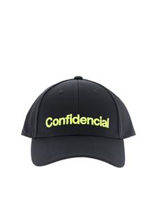 Marcelo Burlon - Confidencial baseball hat in black