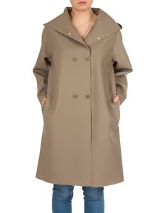 Max Mara - Stilla double-breasted overcoat in brown