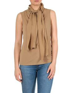 Max Mara - Madera top in brown