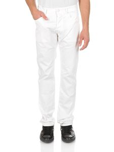 Jacob Cohën - 5-pockets jeans in optical white