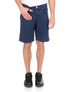 Jacob Cohën - 5-pockets bermuda in blue with logo