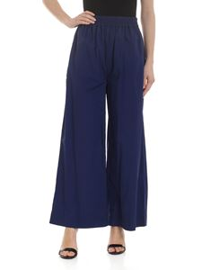 Woolrich - Wide leg trousers in blue