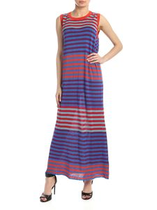 Woolrich - Striped multicolored sleeveless dress