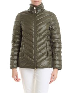 Woolrich - Clarion down jacket in green