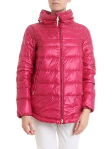 Woolrich - Clarion Medium down jacket in fuchsia