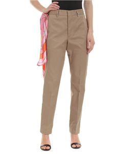 MSGM - Chino trousers in beige