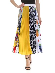 MSGM - Pleated multicolored skirt