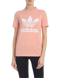 Adidas - Trefoil Tee T-shirt in pink