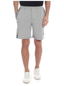 Dsquared2 - Grey bermuda with branded bands