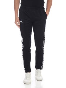 Kappa - 222 Banda Astoria trousers in black
