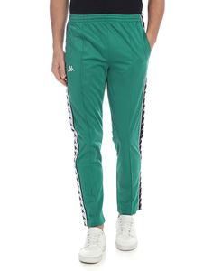 Kappa - 222 Banda Astoria trousers in green