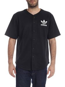 Adidas - Baseball shirt in black