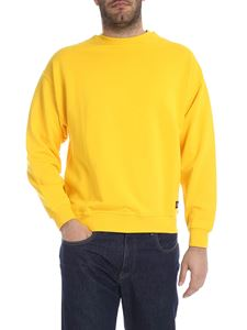 LES (ART)ISTS - Sweatshirt in yellow with Academy printed