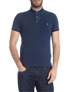 POLO Ralph Lauren - Slim Fit polo in blue with logo embroidery