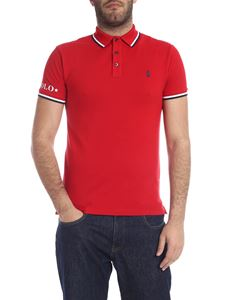 POLO Ralph Lauren - Slim Fit polo in red with logo
